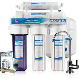 NU Aqua Platinum Series 100GPD Under Sink Reverse Osmosis Dr