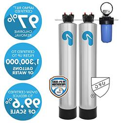 Pelican PSE 2000 Whole House Water Filter & Water Softener -