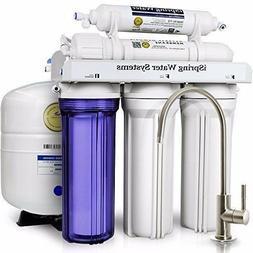 iSpring RCC7 WQA 5-Stage Reverse Osmosis Drinking Water Filt