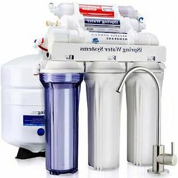 iSpring RCC7AK High Capacity Under Sink 6-Stage Reverse Whit