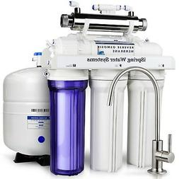 iSpring RCC7D 75GPD RO Water Filter System w/ Zero TDS Deion