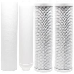 Replacement Filter Kit for Watts RO-TFM-5SV RO System - Incl