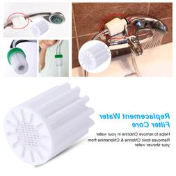 Replacement Water Filter Core In-Line Bath Shower Head Water
