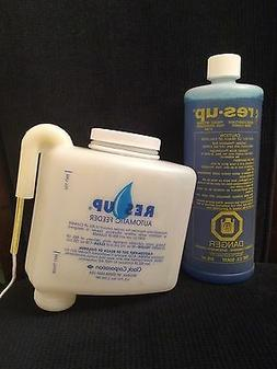 RES-UP WATER SOFTENER RESIN CLEANER AND AUTO FEEDER