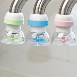 Retractable Faucet Extender 360-Degree Adjustable Filtration