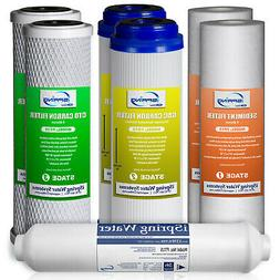miSpring 1-Year Water Filter Replacement Cartridge Supply #F