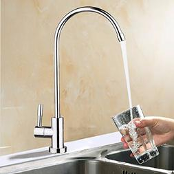 HAPYLY RO Water Filter Faucet,Drinking Water Faucet Chrome R