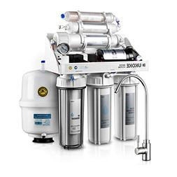 Ukoke RO75GP 6 Stages Reverse Osmosis Water Filtration, Sink