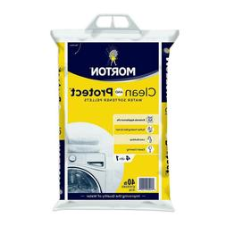 Morton Salt Clean and Protect Water Softener Pellets 40lb Ba