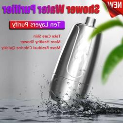 Shower Bath Head Purifier Water Softener Filter Skin Health