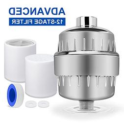 badiJum Shower Filter for Hard Water 12-Stage Replaceable Ca