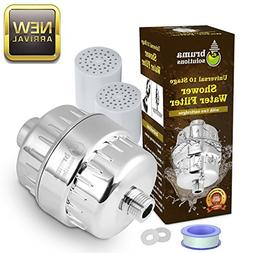 Shower Water Filter Kit - Multi-Stage Replacement | Universa