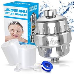 Shower Water Filter Kit- Multi-Stage Water Filter + 2 Cartri