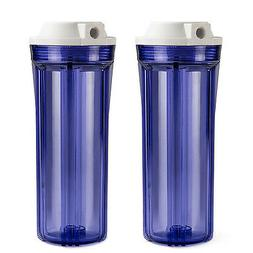 "iSpring Slimline Water Filter Housing 10"" Clear RO -Sold in"