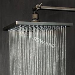 ShowerMaxx  Premium 8 inch Square High Pressure Luxury Spa R