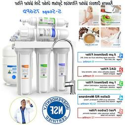 Under Sink 5Stage Reverse Osmosis Drinking Filter System Ult