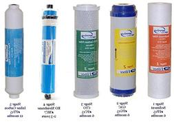 iSpring Water Filter Replacement Cartridge Filter Set of 5 -