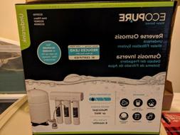 EcoPure Water Filtration System Reverse Osmosis ECOP30 New i