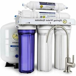 Water Softener Under Sink 5Stage Reverse Osmosis Filtration