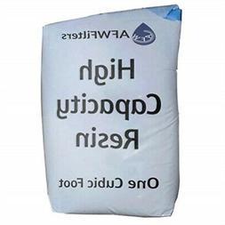 water softening resin bag replacement
