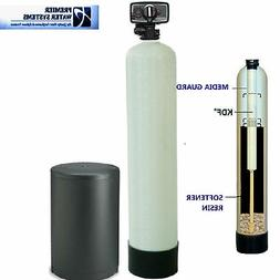 PREMIER Well Water Softener + Iron Remover Water System KDF