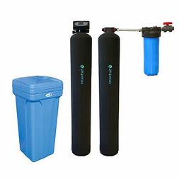 Tier1 Whole House Carbon and KDF Water Filter System for 3-6