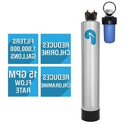 Pelican PC1000 Whole House Water Filter System for 4-6 Bathr