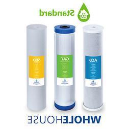 Whole House Replacement Water Filter Set Carbon CTO GAC Sedi