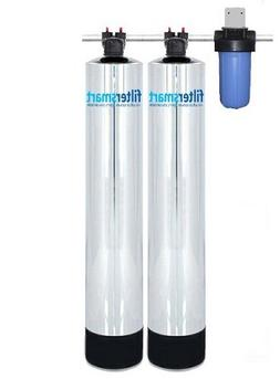 Whole House Water Filter And Salt Free Water Softener Combo