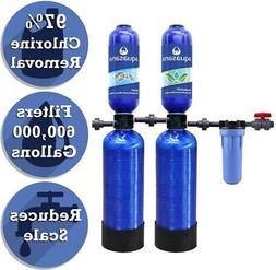 Whole House Water Filtration System 5-Stage 600,000 Gal Soft
