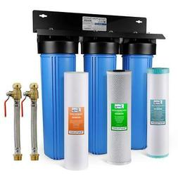 ISPRING Whole House Water Filtration System Iron Manganese R