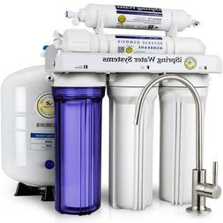 ISPRING WQA Reverse Osmosis 6-Stage 75GPD Alkaline Water Fil